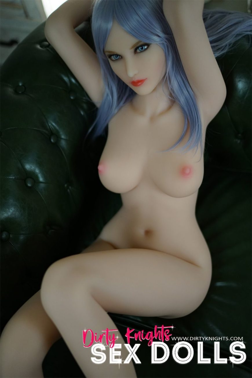 Christie posing nude for Dirty Knights Sex Dolls (1)