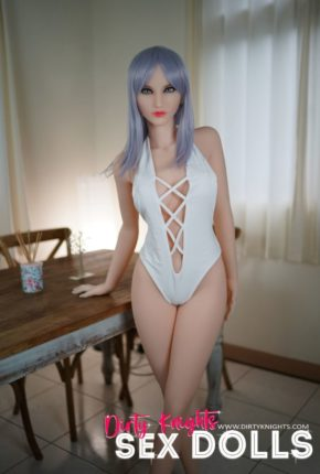 Christie posing nude for Dirty Knights Sex Dolls (3)