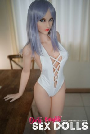 Christie posing nude for Dirty Knights Sex Dolls (4)