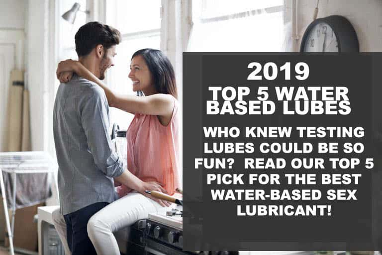 photo for the article on the best 2019 water based sex lubricant