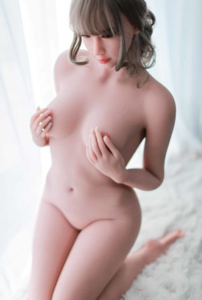 Cora sex doll posing nude for Dirty Knights Sex dolls website (8)
