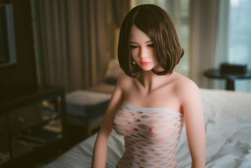 Eden Sex Doll posing nude for Dirty Knights Sex Dolls (2)