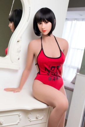 Marian posing seductively for dirty knights sex dolls (3)