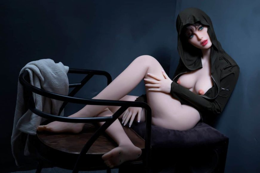 Sexy doll janet posing in a hoodie for Dirty knights sex dolls 1 (20)