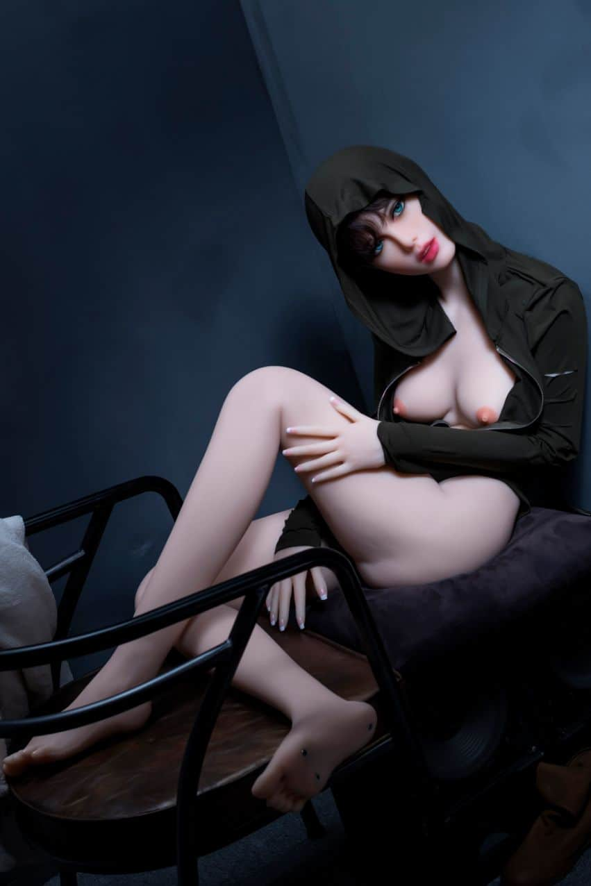 Sexy doll janet posing in a hoodie for Dirty knights sex dolls 1 (21)