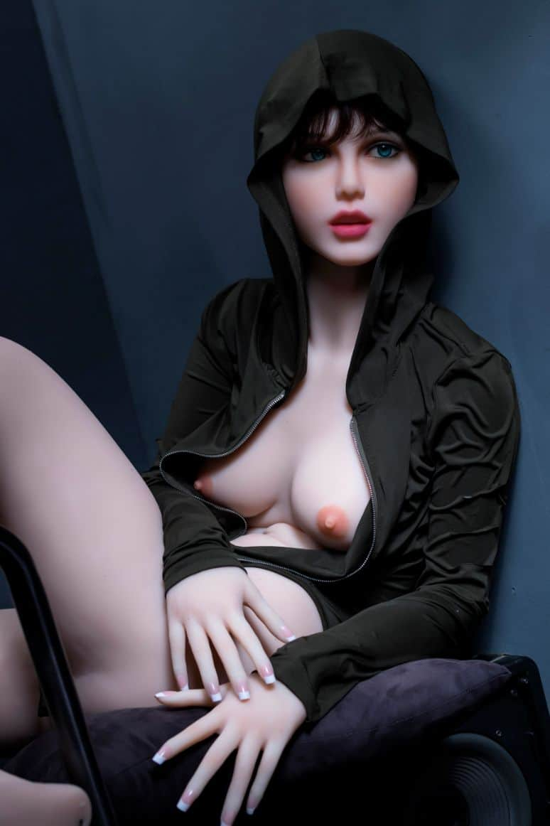 Sexy doll janet posing in a hoodie for Dirty knights sex dolls 1 (24)