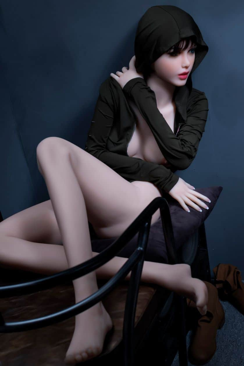 Sexy doll janet posing in a hoodie for Dirty knights sex dolls 1 (28)