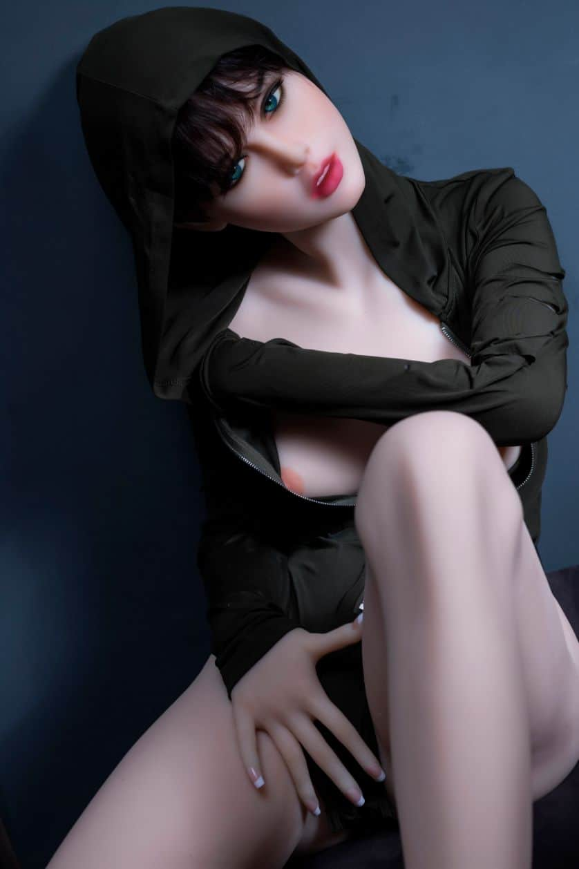 Sexy doll janet posing in a hoodie for Dirty knights sex dolls 1 (29)