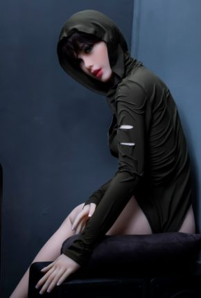Sexy doll janet posing in a hoodie for Dirty knights sex dolls 1 (3)