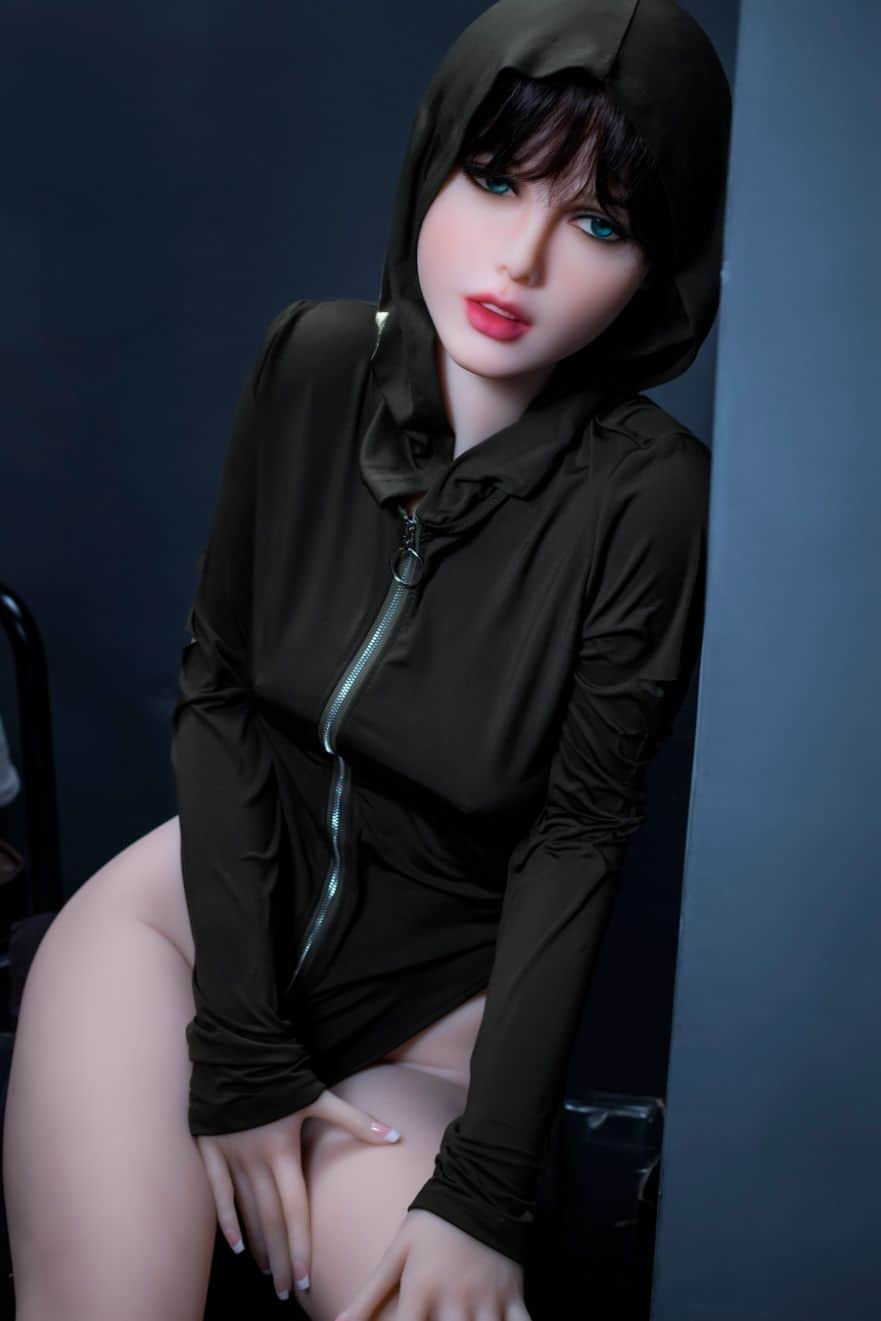 Sexy doll janet posing in a hoodie for Dirty knights sex dolls 1 (33)