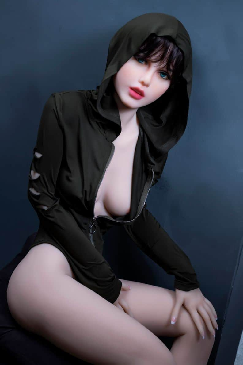 Sexy doll janet posing in a hoodie for Dirty knights sex dolls 1 (34)