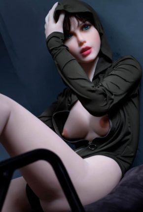 Sexy doll janet posing in a hoodie for Dirty knights sex dolls 1 (38)