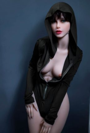Sexy doll janet posing in a hoodie for Dirty knights sex dolls 1 (5)