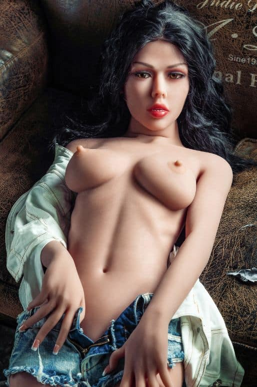 Sierra posing in the nude for Dirty Knights Sex Dolls (4)
