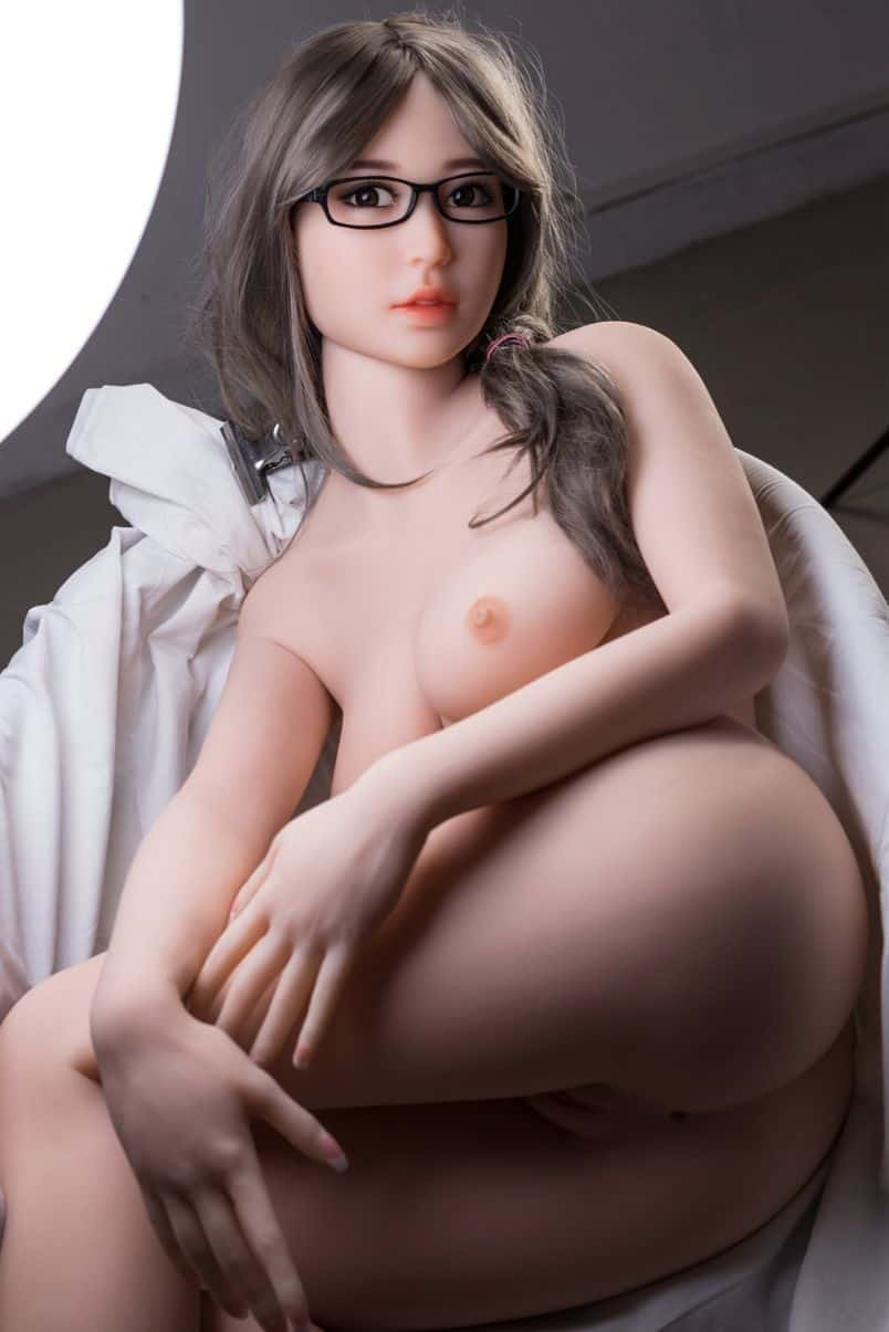 Thea Sex Doll posing in a studio for Dirty Knights Sex Dolls (12)