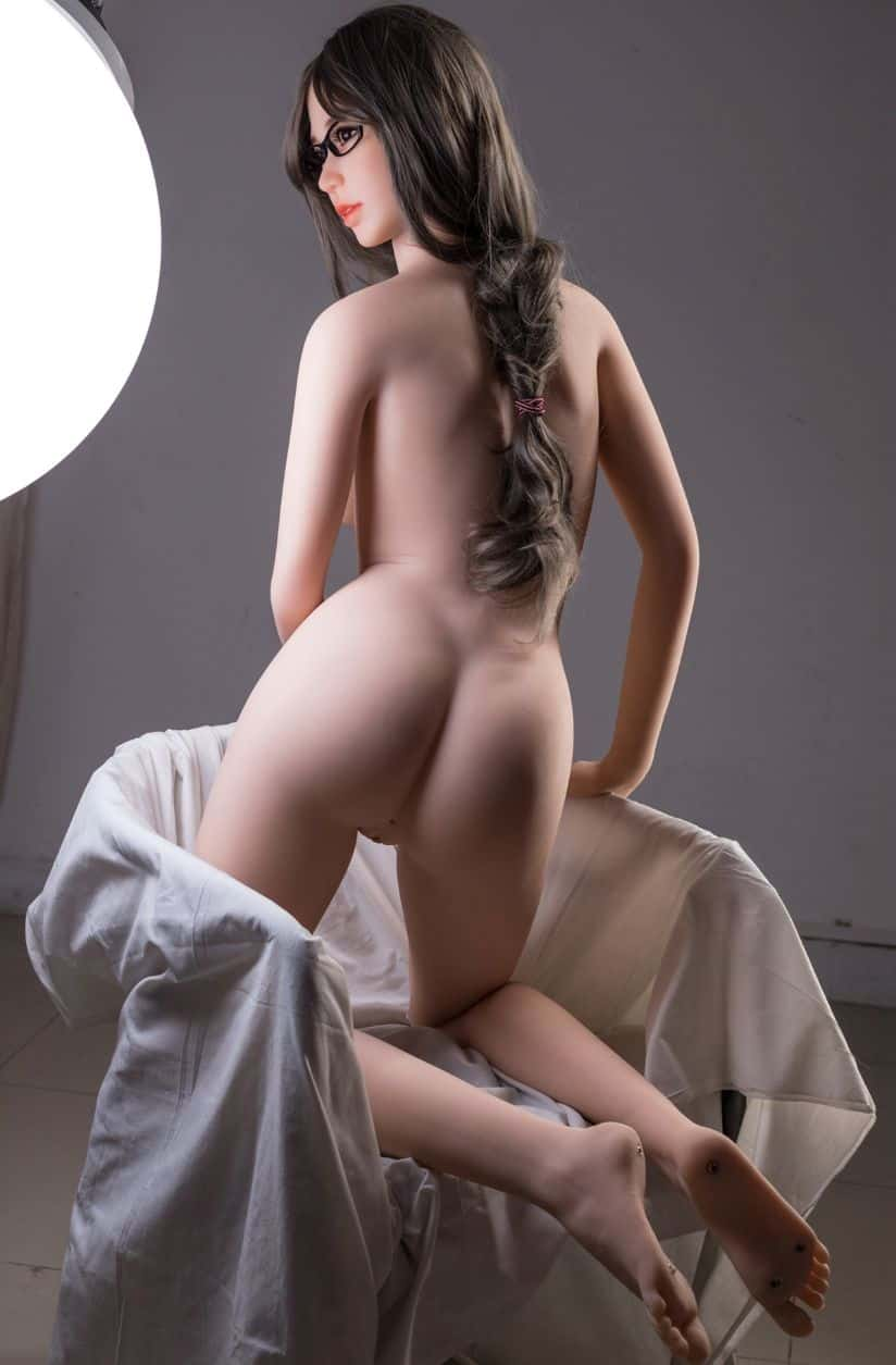 Thea Sex Doll posing in a studio for Dirty Knights Sex Dolls (13)