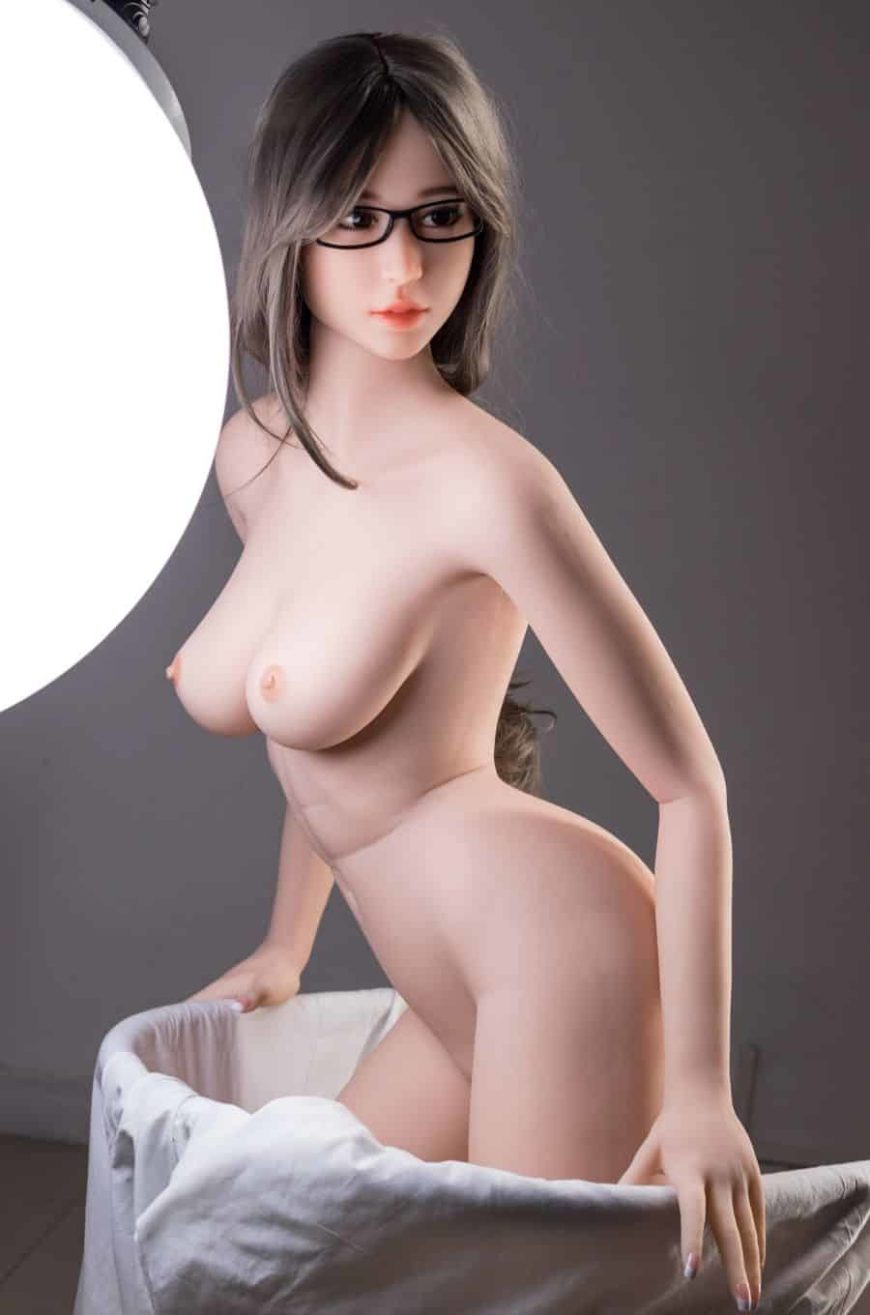 Thea Sex Doll posing in a studio for Dirty Knights Sex Dolls (15)
