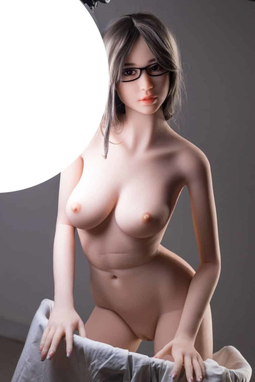 Thea Sex Doll posing in a studio for Dirty Knights Sex Dolls (16)