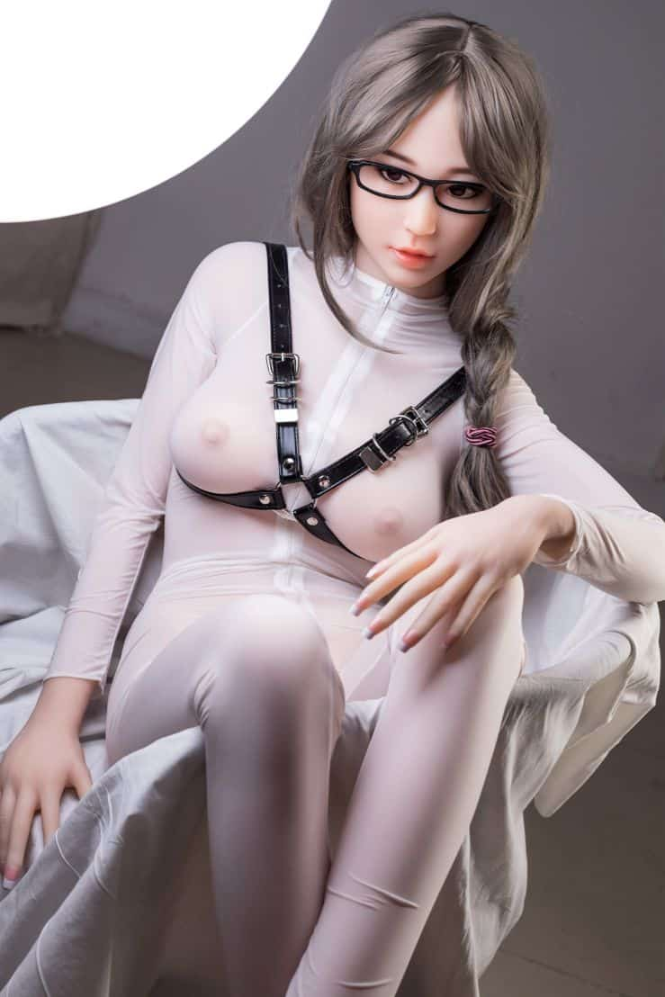 Thea Sex Doll posing in a studio for Dirty Knights Sex Dolls (18)