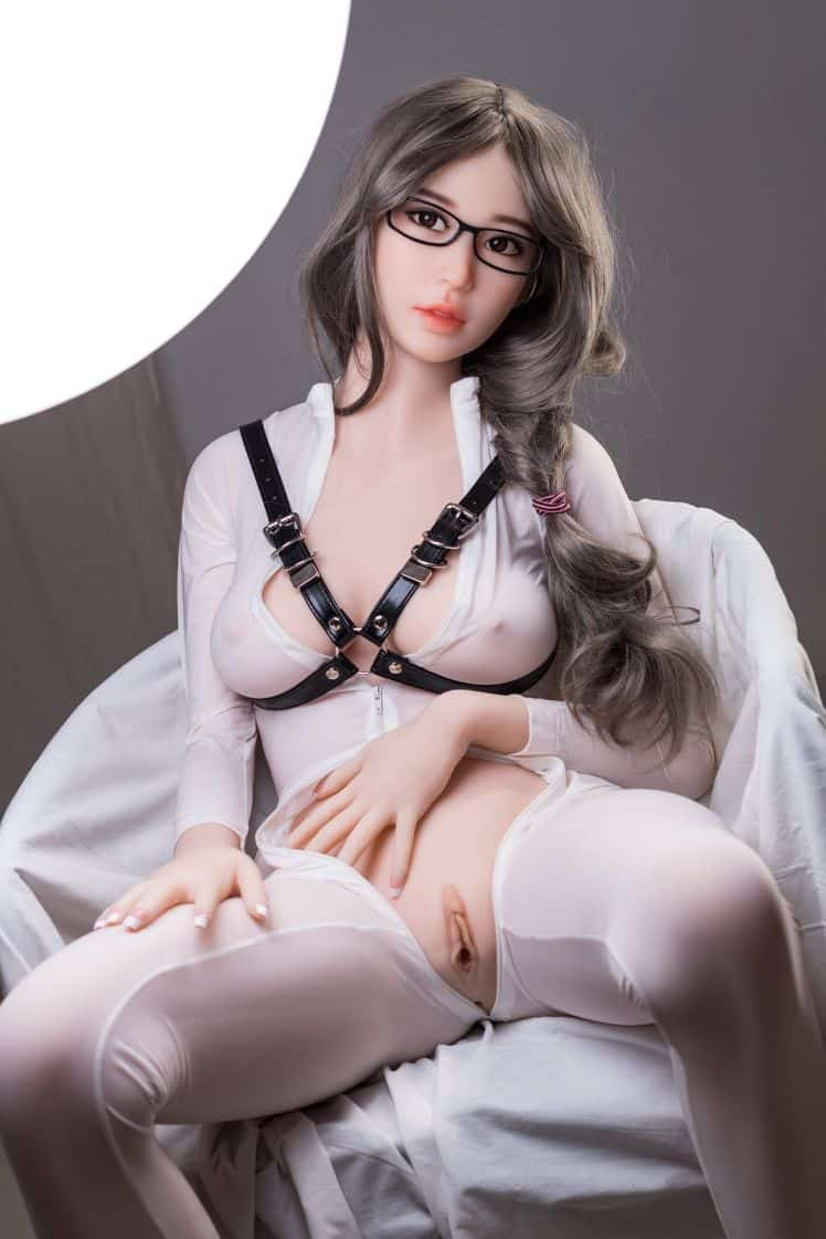 Thea Sex Doll posing in a studio for Dirty Knights Sex Dolls (26)