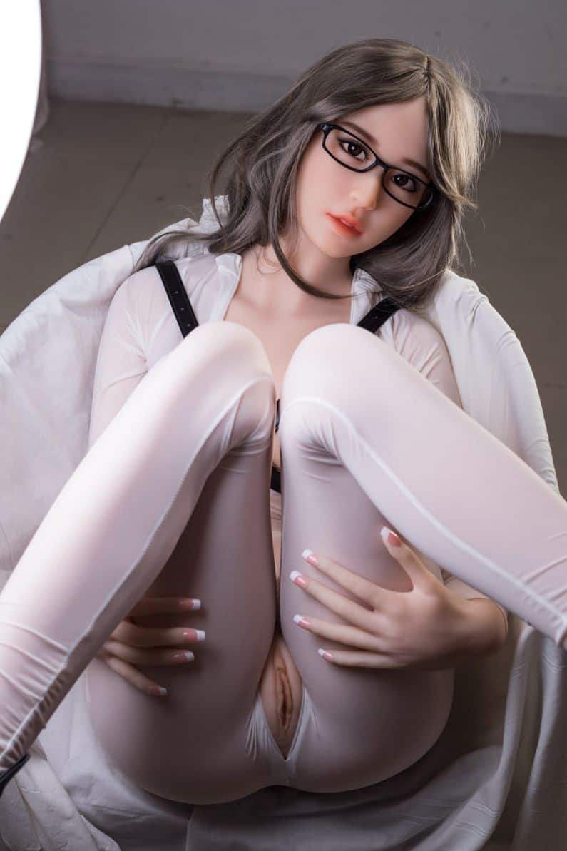 Thea Sex Doll posing in a studio for Dirty Knights Sex Dolls (32)