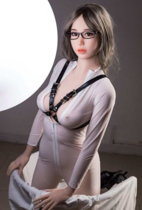 Thea Sex Doll posing in a studio for Dirty Knights Sex Dolls (34)