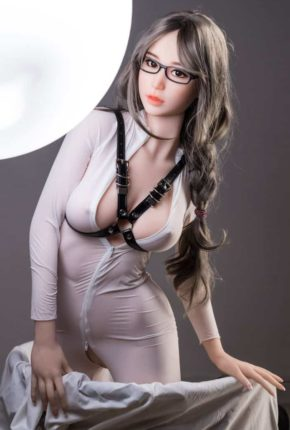 Thea Sex Doll posing in a studio for Dirty Knights Sex Dolls (37)