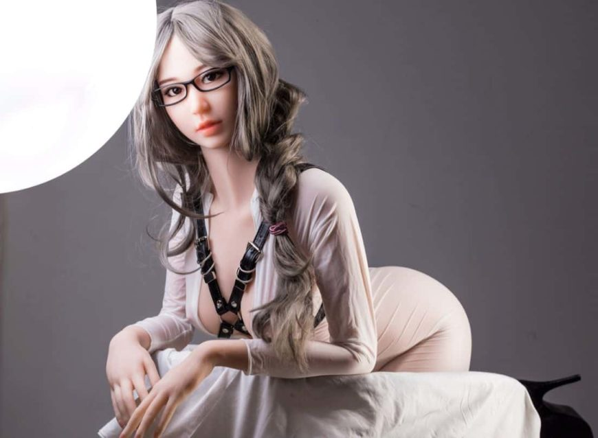 Thea Sex Doll posing in a studio for Dirty Knights Sex Dolls (40)