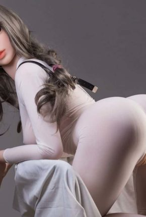 Thea Sex Doll posing in a studio for Dirty Knights Sex Dolls (41)