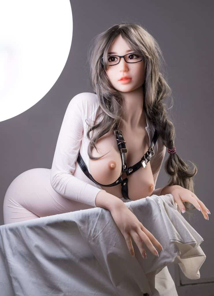 Thea Sex Doll posing in a studio for Dirty Knights Sex Dolls (42)