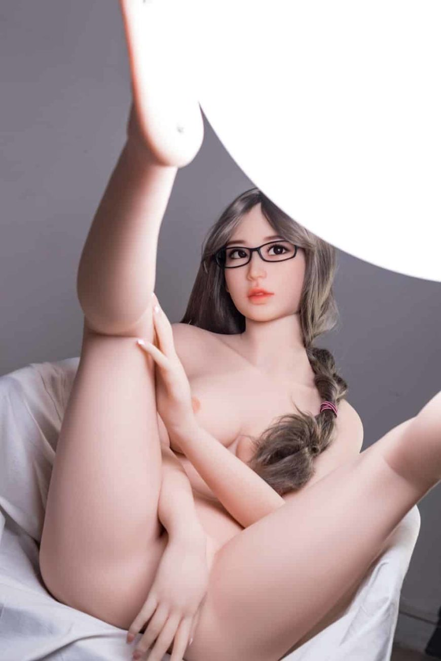 Thea Sex Doll posing in a studio for Dirty Knights Sex Dolls (5)
