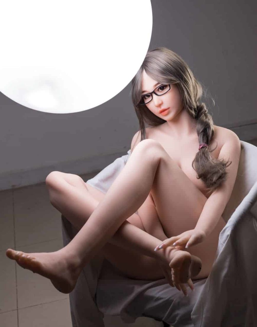 Thea Sex Doll posing in a studio for Dirty Knights Sex Dolls (6)
