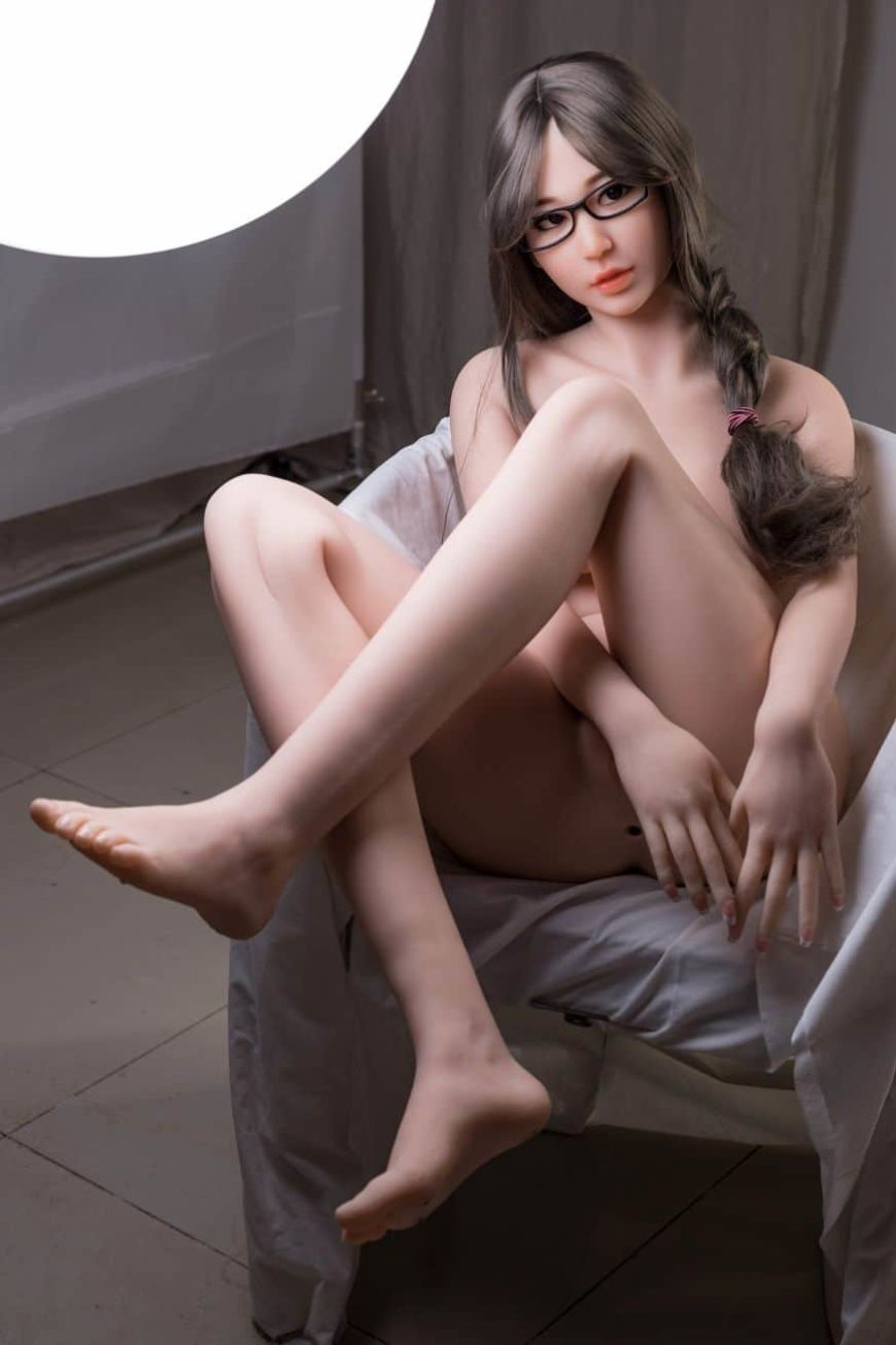 Thea Sex Doll posing in a studio for Dirty Knights Sex Dolls (7)
