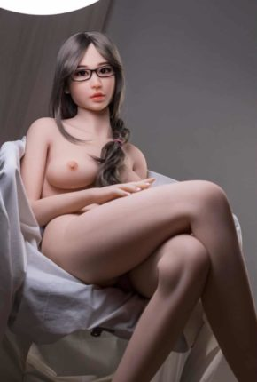 Thea Sex Doll posing in a studio for Dirty Knights Sex Dolls (9)