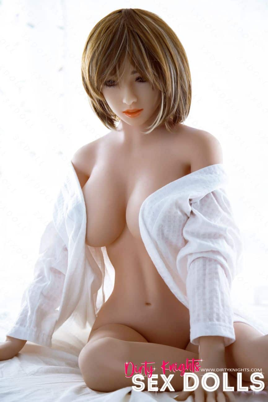 Mizuko Sex Doll from Dirty Knights Sex Doll posing for a photoshoot (2)