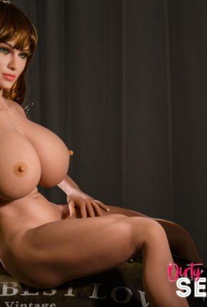 sex doll Lakynn posing nude in Dirty Knights Sex Doll Studio (2)