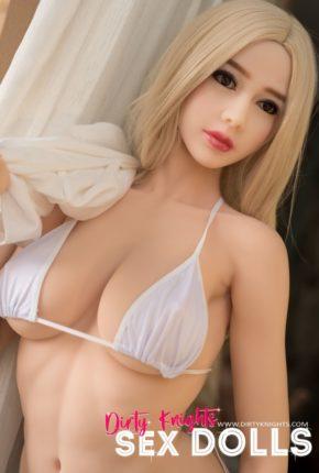 Heather sex doll posing in bikini for Dirty Knights Sex Dolls (1)