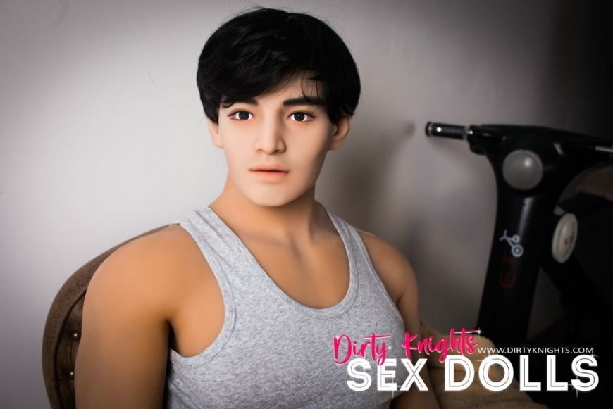 Male Sex Doll Grant posing nude for Dirty Knights Sex Dolls website (13)
