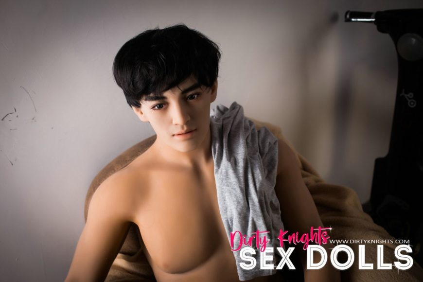 Male Sex Doll Grant posing nude for Dirty Knights Sex Dolls website (17)