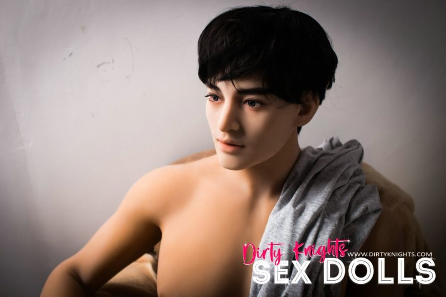 Male Sex Doll Grant posing nude for Dirty Knights Sex Dolls website (19)