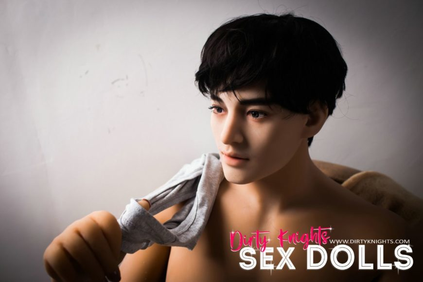 Male Sex Doll Grant posing nude for Dirty Knights Sex Dolls website (20)