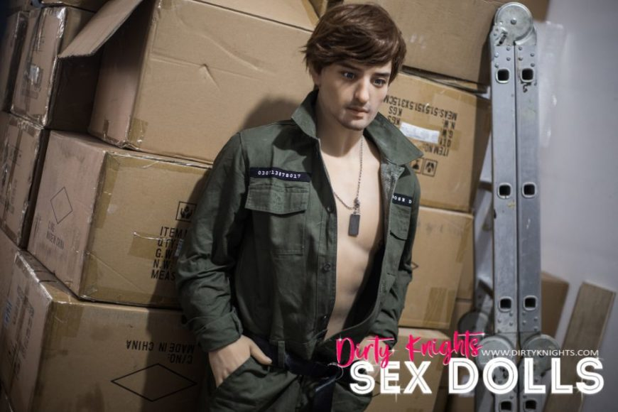 Rick posing sexy for Dirty Knights Sex Dolls (19)