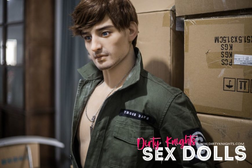 Rick posing sexy for Dirty Knights Sex Dolls (7)
