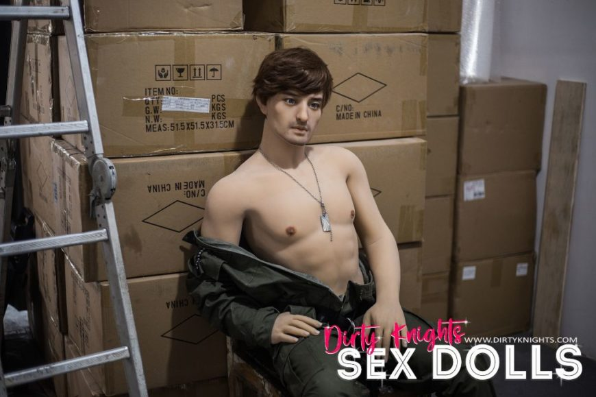 Rick posing sexy for Dirty Knights Sex Dolls (8)