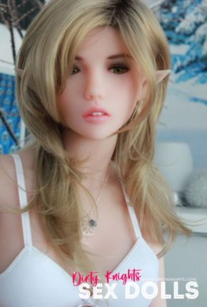 Dirty Knights Sex Dolls Dora elf sex doll posing nude on bed for photoshoot (9)