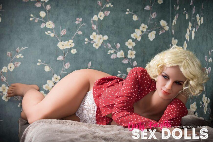 Hazel sex doll posing nude for Dirty Knights Sex Dolls website (22)