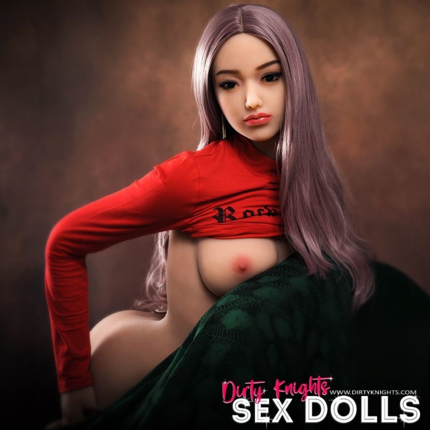 Helen HR Doll posing nude for Dirty Knights Sex Dolls (10)