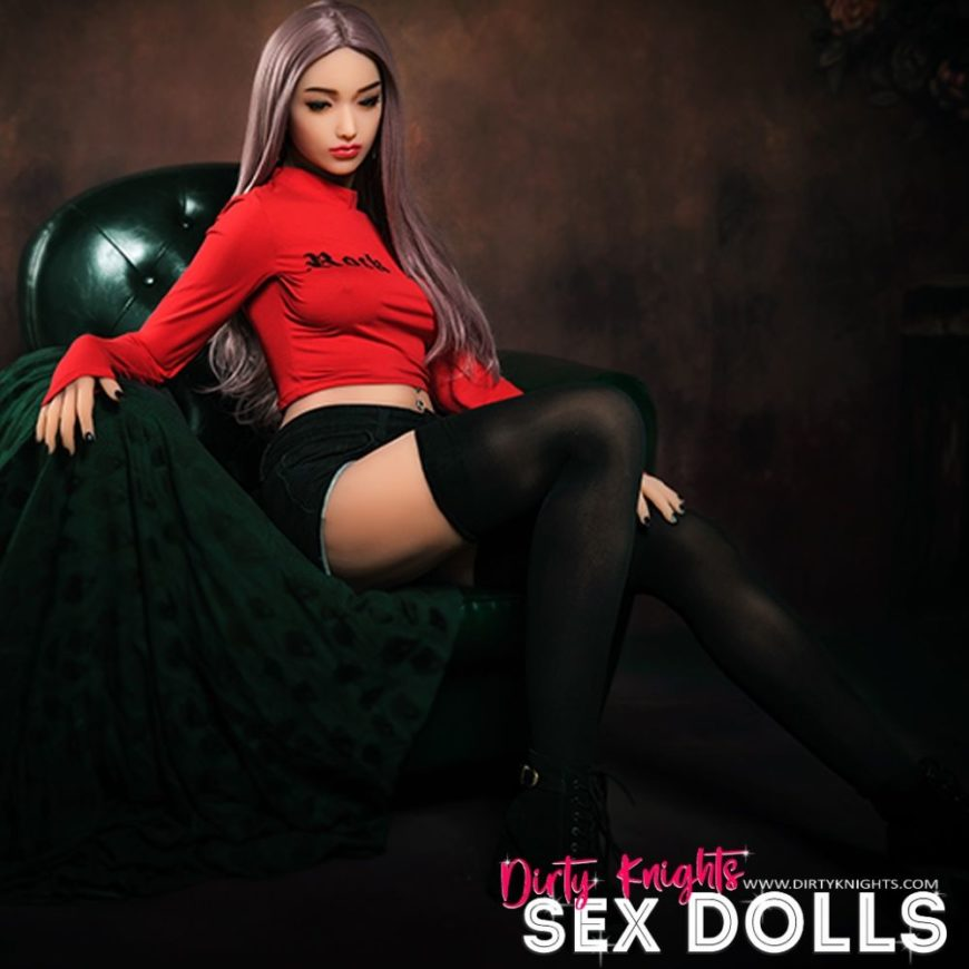 Helen HR Doll posing nude for Dirty Knights Sex Dolls (2)