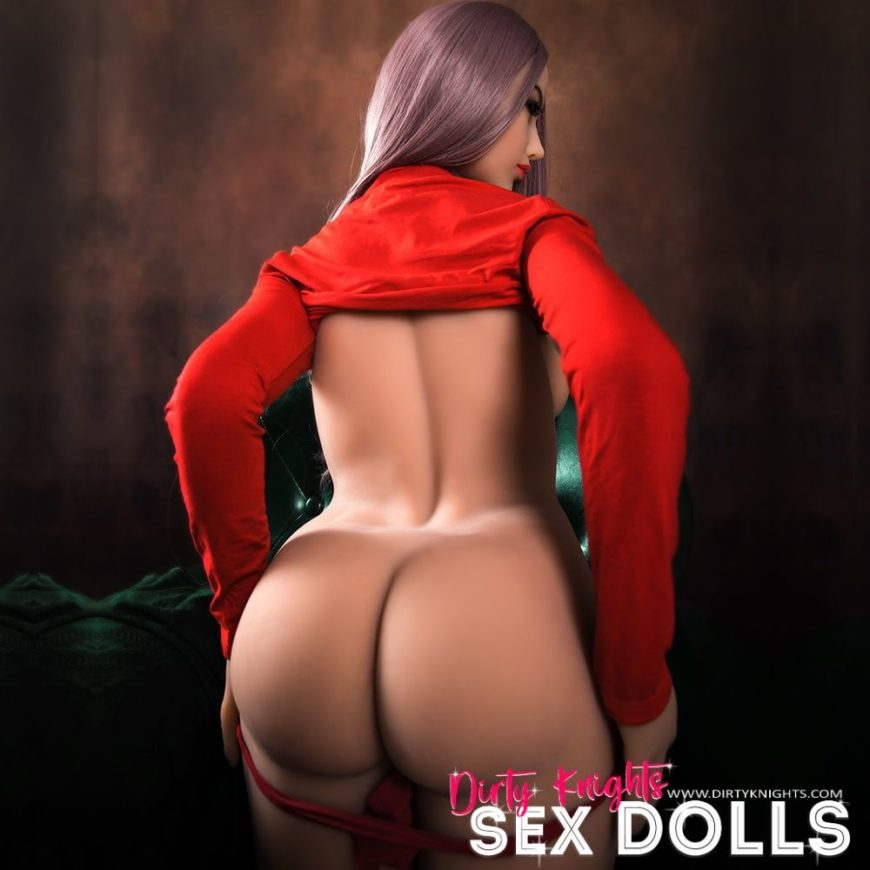 Helen HR Doll posing nude for Dirty Knights Sex Dolls (9)