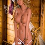 Amber sex doll from Dirty Knights Sex Dolls posing nude for website (23)
